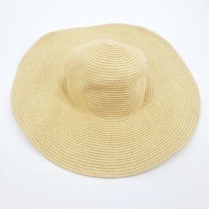 J. Crew 100% Paper Straw Hat Sun Hat Floppy Tan